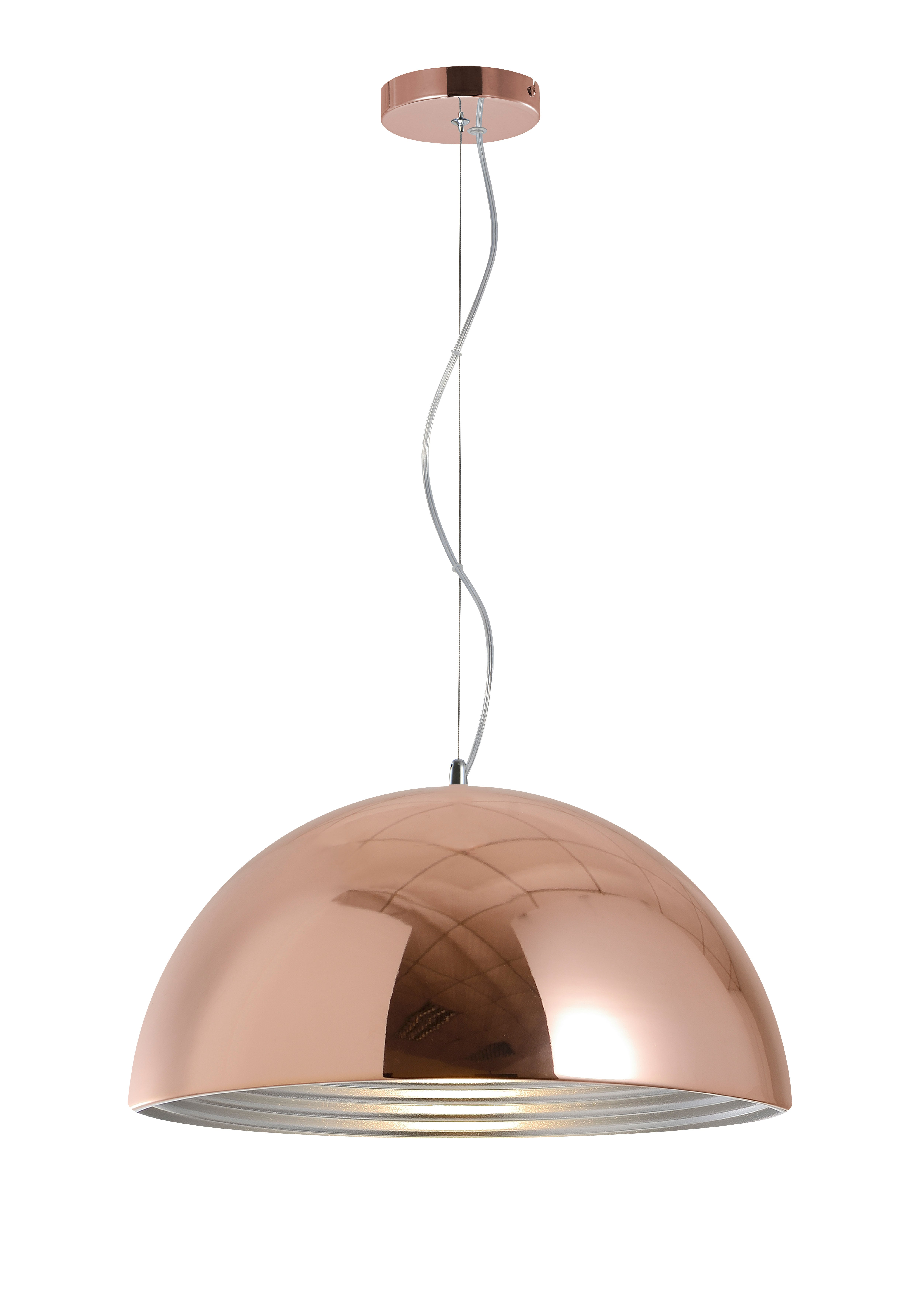 industrial hanging lamp Mads copper E27 60W