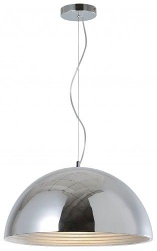 Loftowa pendant lamp Mads chrome E27 60W