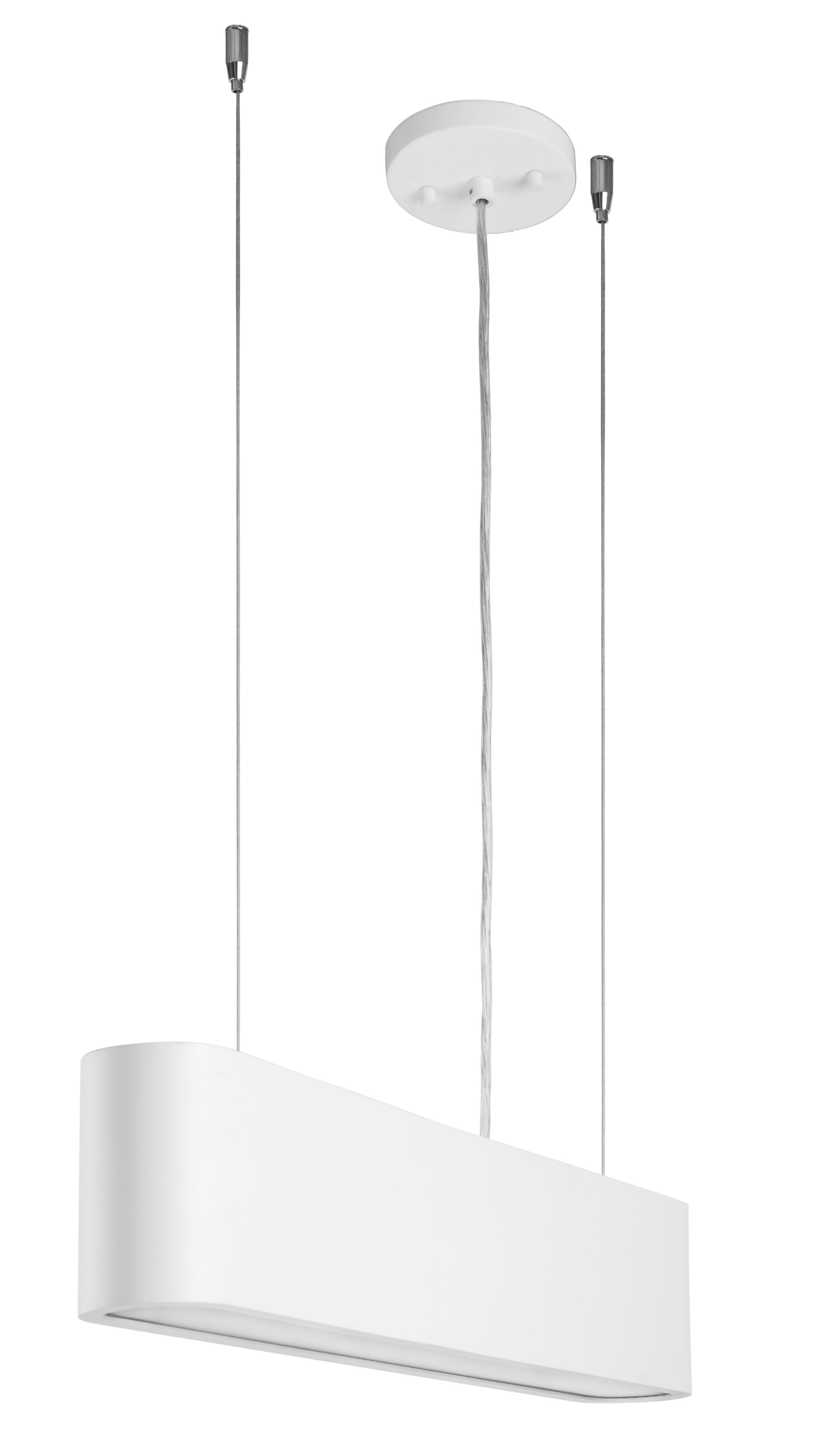 White industrial pendant lamp Illumina LED 28W