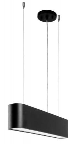 Czarna Lampa wisząca Illumina LED 28W