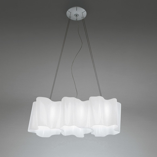 Hanging lamp Artemide Logico Suspension 3 In Linea 0455040A