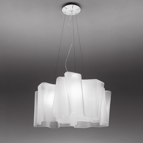 Hanging lamp Artemide Logico Mini Suspension 3X120 ° 0698020A