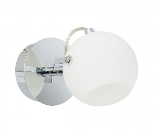 Wall lamp Ida chrome / white LED 3W