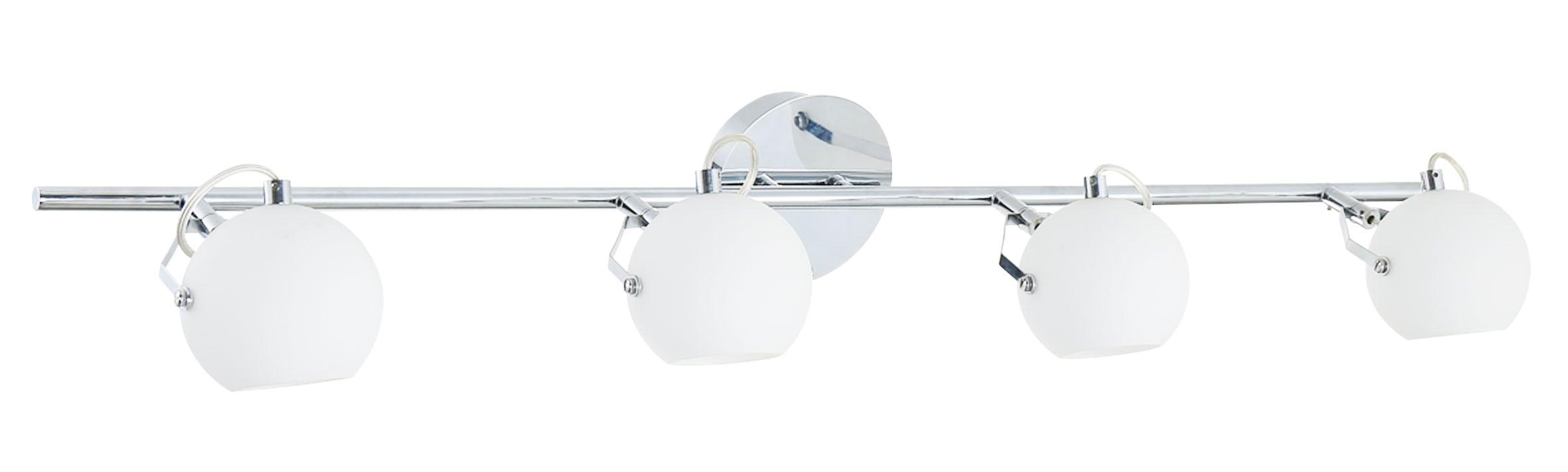 Four-point Ida strip chrome / white LED 3W
