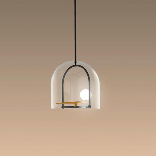 The unusual pendant lamp Artemide Yanzi Suspension 1103010A
