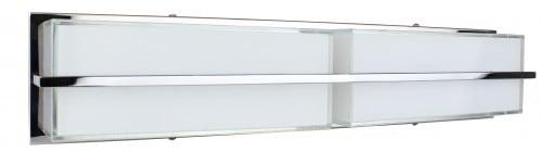 Chromowany Kinkiet Sally/ biały LED 20W