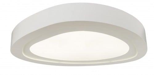 Biały Plafon Cloud LED 24W