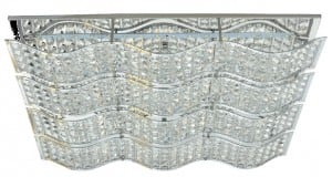 Ozdobny Plafon Spindle chrom LED 32W