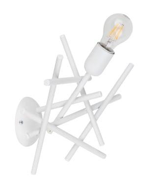 White loft Wall light Glenn E27 60W
