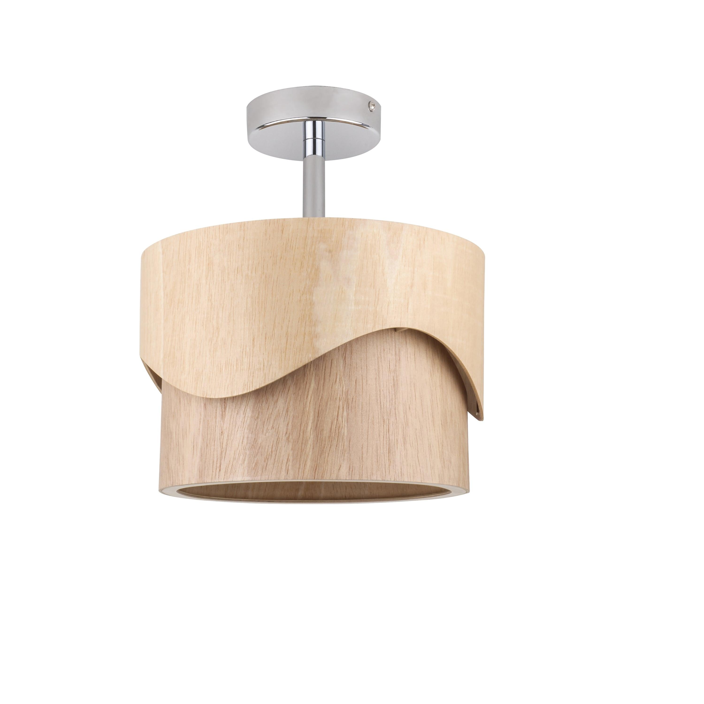 Modern wooden ceiling Akira Wood oak E27 60W