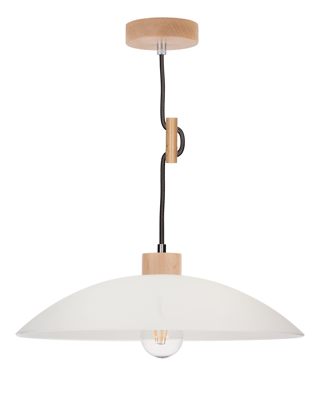 Hanging lamp Jona buk / anthracite E27 60W