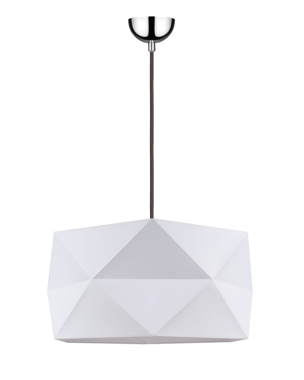 Hanging lamp Finja biały / anthracite E27 60W