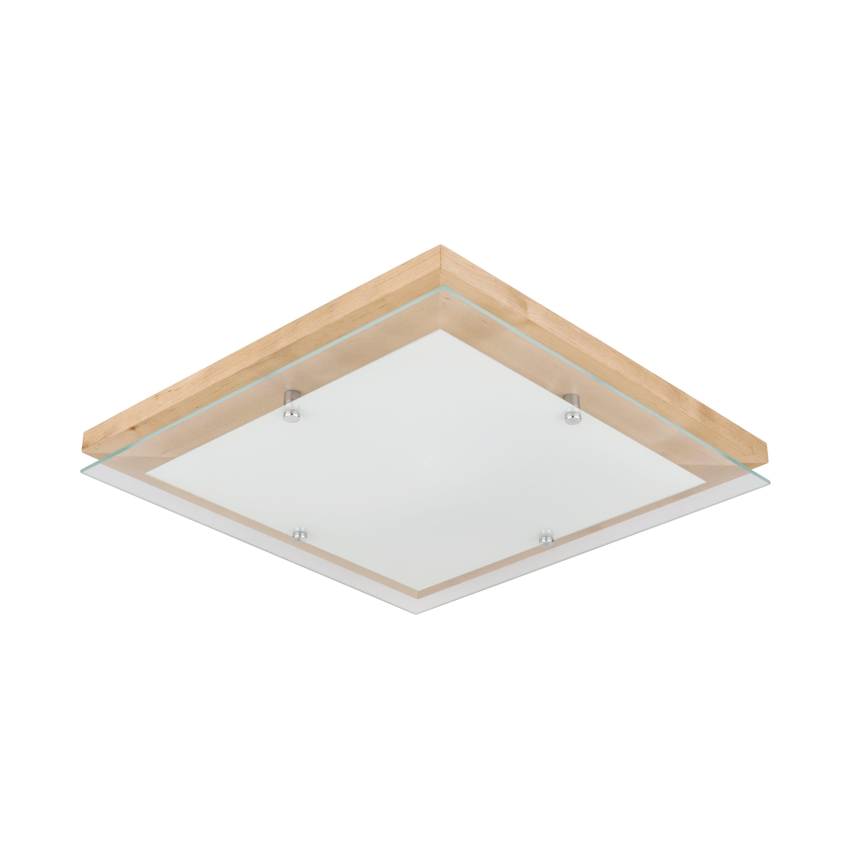 Plafon Finn brzoza / chrome / white LED 2.7-24W