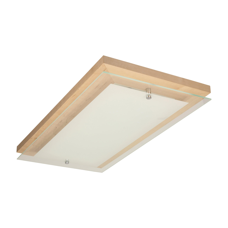 Plafon Finn brzoza / chrom / white LED 3.2-24W