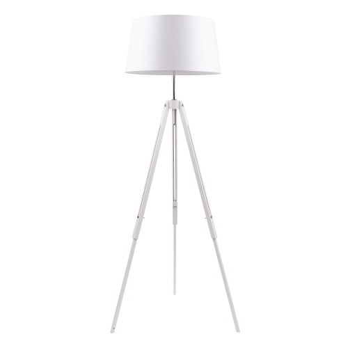 White Floor lamp. Tripod