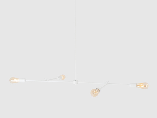Lampa wisząca TRISO 4 - biały
