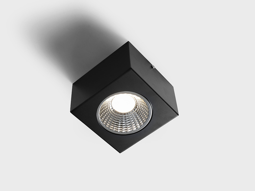 FLASS 1 LED ceiling light - black