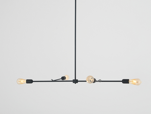 TRISO 4 hanging lamp - black