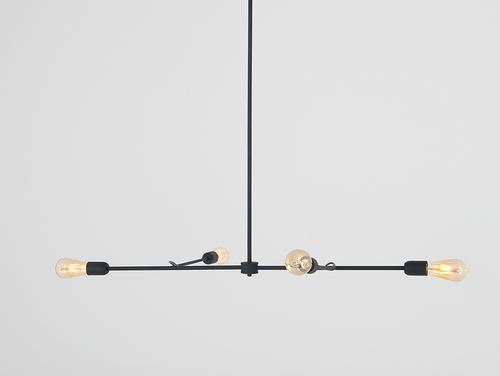 TRISO 4 hanging lamp - black