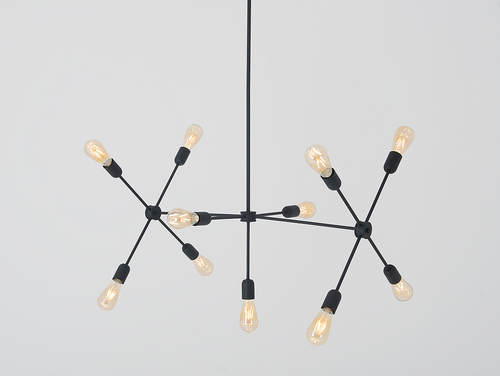 TRISO 11 hanging lamp - black