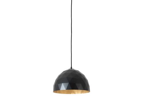 Hanging lamp LEONARD M - gold-black