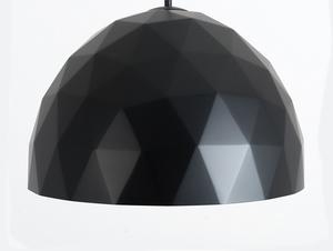 Hanging lamp LEONARD L - gold-black small 3