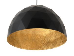 Hanging lamp LEONARD L - gold-black small 4