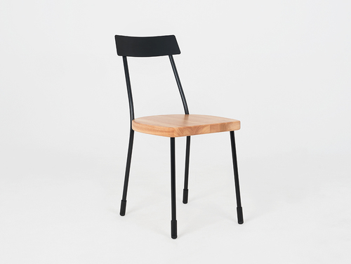 LENA chair - black, natural