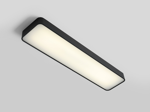 LAXO 90x20 ceiling lamp - graphite