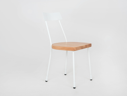 LENA chair - white, natural