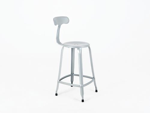 SOHO BAR bar stool - silver