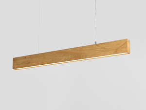 Hanging lamp LINE PLUS L WOOD - oak small 3