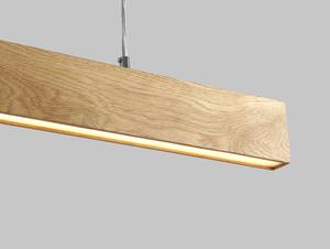 Hanging lamp LINE PLUS L WOOD - oak small 4