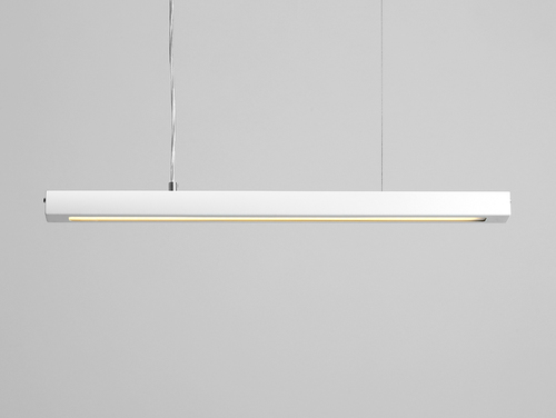 Hanging lamp LINE PLUS M - white