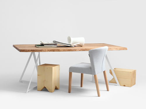 SHERWOOD WOOD dining table