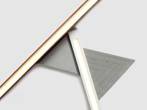 LINE PLUS M WOOD ceiling lamp - walnut small 1
