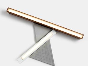 LINE PLUS M WOOD ceiling lamp - walnut small 2