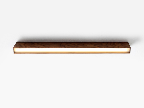 LINE PLUS M WOOD ceiling lamp - walnut