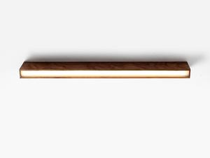 LINE PLUS M WOOD ceiling lamp - walnut small 0