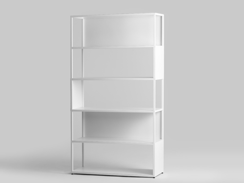 HYLLER SIDE METAL 100x180 bookcase
