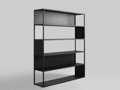 HYLLER SIDE METAL 150x180 bookcase