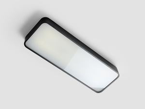 LAXO 60x20 ceiling lamp - graphite small 3