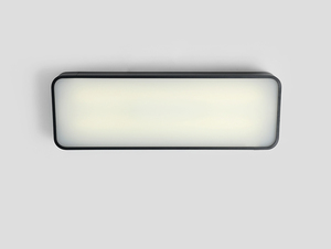 LAXO 60x20 ceiling lamp - graphite small 0