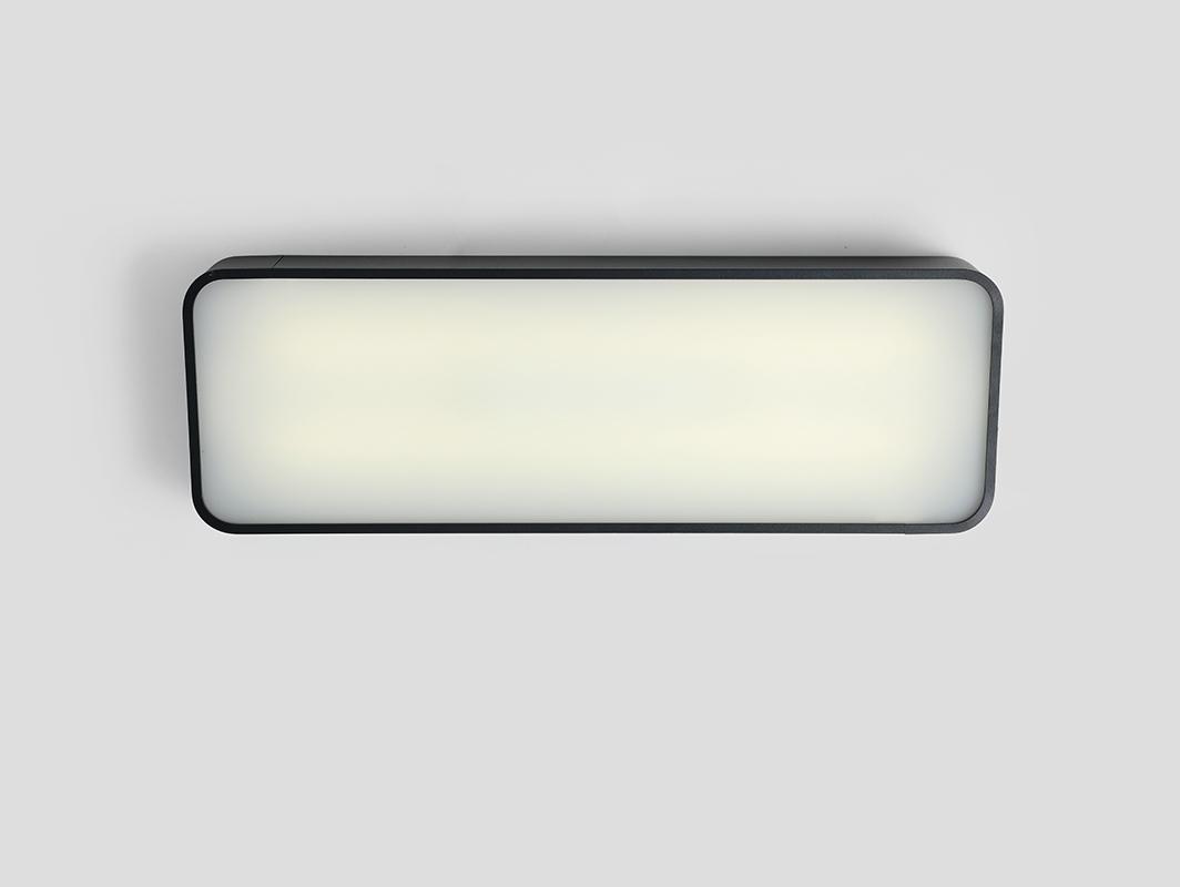 LAXO 60x20 ceiling lamp - graphite