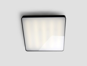 LAXO 60x60 ceiling lamp - graphite small 3