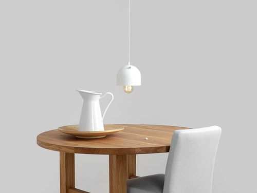 POPO 1 hanging lamp - white