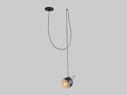 POPO 1 hanging lamp - black