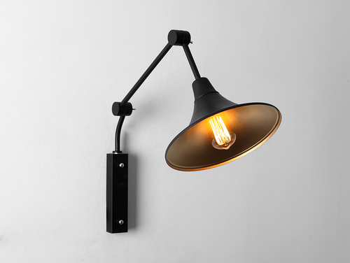 MILLER WALL wall lamp - black