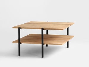 RAVE SOLID WOOD 100x100 coffee table small 3