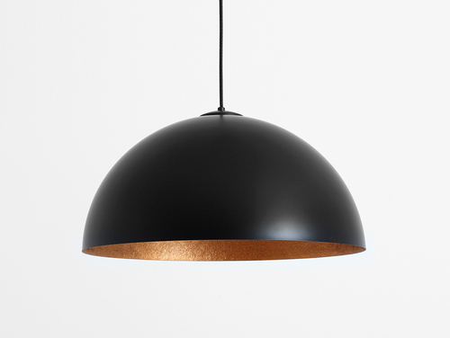 Hanging lamp LORD 50 - copper-black